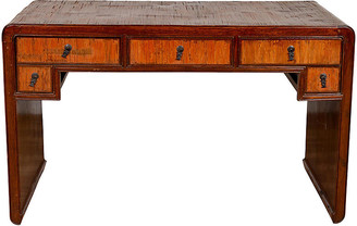 One Kings Lane Vintage Handmade Desk Found in Northern Thailand - FEA Home