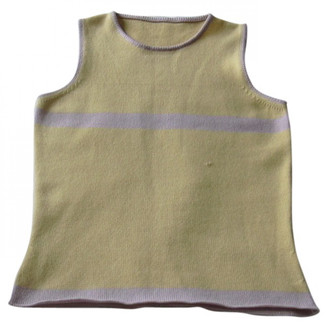 Lucien Pellat-Finet Lucien Pellat Finet Yellow Cashmere Knitwear for Women