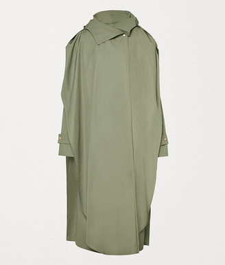 Bottega Veneta Raincoat In Nylon