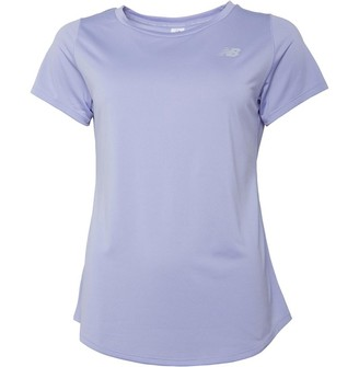 New Balance Womens Accelerate Running Top Clear Amethyst