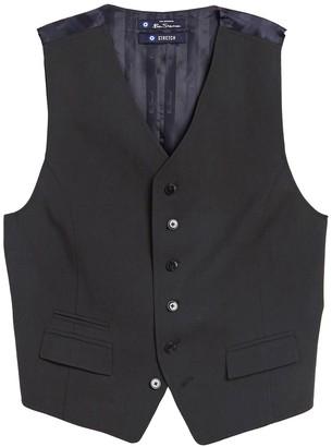 Ben Sherman Sewell Dark Grey Suit Separate Vest