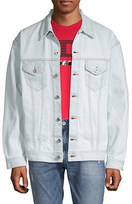 Diesel Spread Collar Denim Jacket