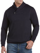 Society of One Shawl-Collar Fleece Pullover Casual Male XL Big & Tall