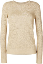 MICHAEL Michael Kors metallic jacquard jumper - women - Nylon/Polyester/Viscose/Metallic Fibre - XS