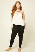 Forever 21 FOREVER 21+ Plus Size Patch Pocket Pants