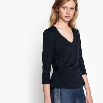 La Redoute Collections Long-Sleeved T-Shirt with Side Detail