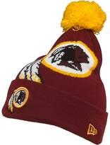 New Era Youths NFL Washington Redskins Knitted Bobble Hat Red