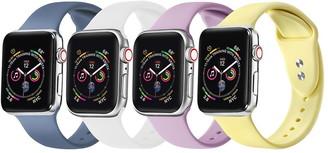 Posh Tech Multi Apple Watch Replacement Band - Set of 4