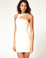 Asos Body-Conscious Dress With Deep Cut Out