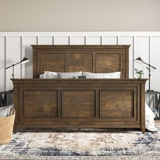 Laurel Foundry Modern Farmhouse Sainte-Rose Standard Bed Size: Queen