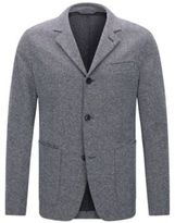 HUGO BOSS Italian Cotton Jersey Sport Coat, Slim Fit T-Nedd 36RBlue