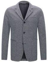 HUGO BOSS Italian Cotton Jersey Sport Coat, Slim Fit T-Nedd 42RBlue