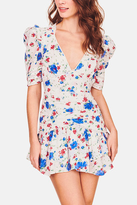 LoveShackFancy Blue Notte Arlo Dress