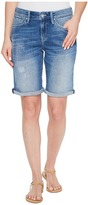 Mavi Jeans Alexis Shorts in Mid Ripped Stripe