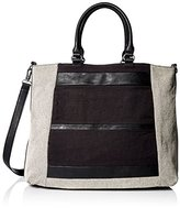 Splendid Emerald Bay Mised Canvas Tote Cross Body Bag