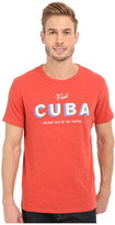 Lucky Brand Visit Cuba Graphic Tee