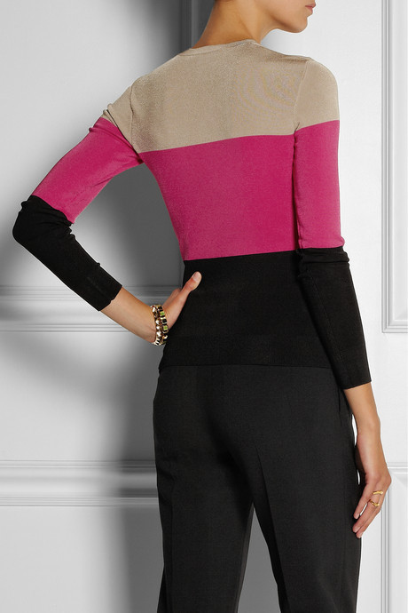 Jonathan Saunders Becky knitted sweater