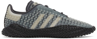 Craig Green Grey and Black adidas Edition CG Graddfa AKH Sneakers