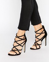 Dune Memphis Strap Heeled Sandals