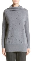 Fabiana Filippi Women's Embellished Cashmere Turtleneck Sweater