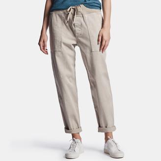 James Perse Cotton Slub Cargo Pant