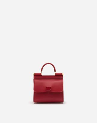 Dolce & Gabbana Sicily 58 Micro Bag In Plain Calfskin