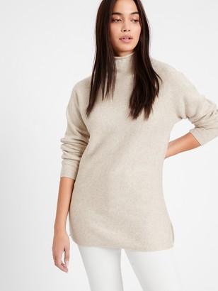 Banana Republic Petite Funnel-Neck Sweater Tunic