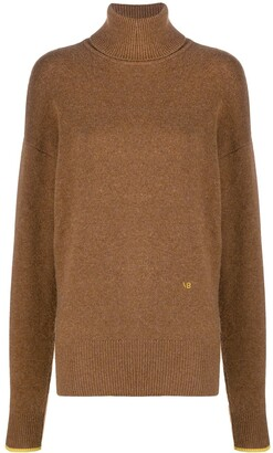 Victoria Beckham Roll-Neck Wool Jumper