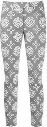 Dondup Perfect printed slim trousers