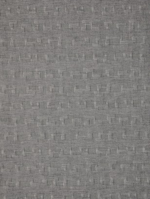 Hatch Kokka Textured Cross Print Fabric, Grey