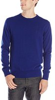 French Connection Men's Auderly Cotton Crew Neck Long Sleeve Sweater