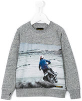Finger In The Nose Motorcross sweatshirt - kids - Cotton - 2 yrs
