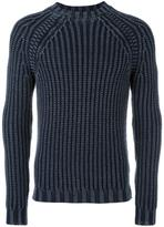Fay ribbed jumper