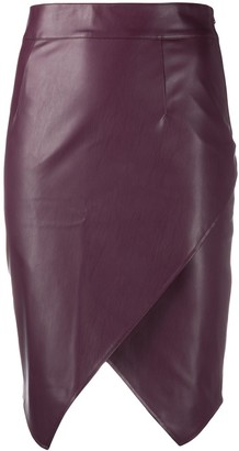Patrizia Pepe Faux-Leather Skirt