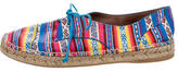 Tabitha Simmons Printed Lace-Up Espadrilles
