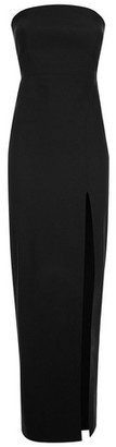 Dorothy Perkins Womens Vesper Black Strapless Maxi Dress, Black