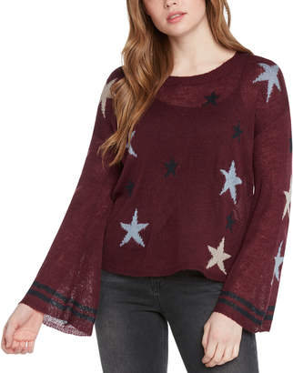 Willow & Clay Star Intarsia Pullover