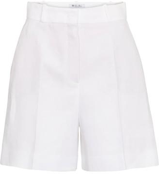 Loro Piana Emil high-rise linen shorts