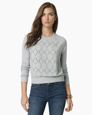 Juicy Couture Jeweled Couture Sweatshirt