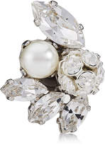 Jimmy Choo SPRING Crystal Mix Metal with Crystals and Pearls Shoe Clips