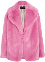 J.Crew Madison Faux Fur Coat - Pink