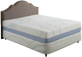 """Ac Pacific Corporation 12"""" Charcoal Gel Infused Certipur Memory Foam Mattress, Queen"""
