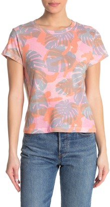 Wildfox Couture Tropical Camo Print T-Shirt