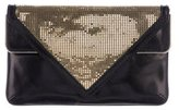 Brian Atwood Leather Carla Clutch
