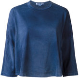 Comme des Garcons three-quarter length sleeve sweatshirt - women - Cotton - S