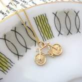Heather Scott Jewellery Gold Bicycle Necklace