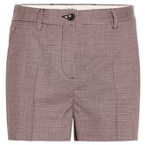 Miu Miu Iam check shorts