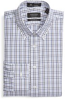 Nordstrom Men's Big & Tall Smartcare(TM) Traditional Fit Plaid Dress Shirt