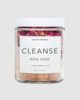 SALT BY HENDRIX Women's Pink Bath & Shower - Cleanse - Rose - Size One Size, 220g at The Iconic