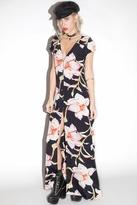 Flynn Skye Eterie Maxi Dress in Midnight Lily
